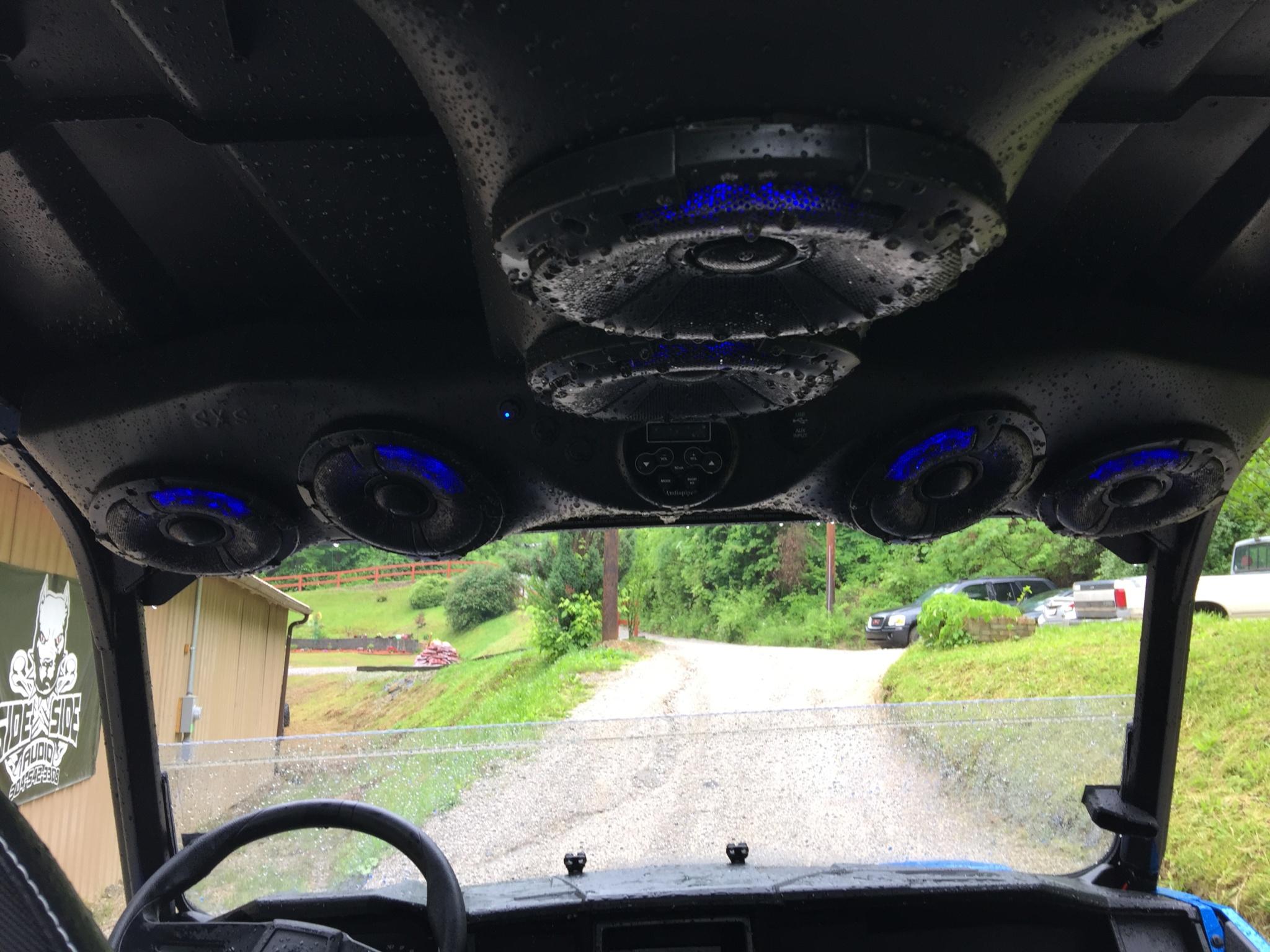 General 1000 2 Seater 4 Speaker Overhead Sidexsideaudio